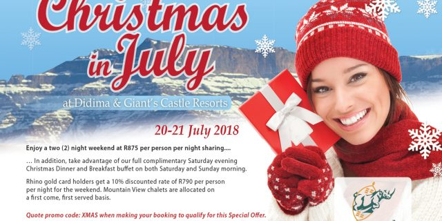 Christmas in July – Didima & Castle Resort